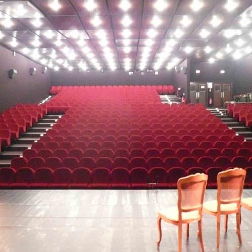 salle de théâtre vide