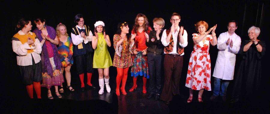 cours de théâtre avancés, salutations acteurs