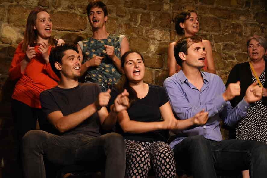 Cours de theatre amateur Candela